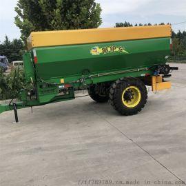 牵引式施肥机 大型撒肥车厂家