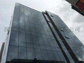 竖明横隐框玻璃幕墙安装公司