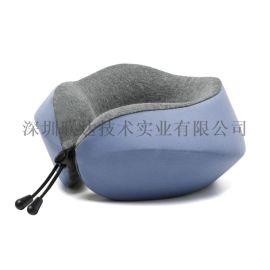 几何颈枕记忆棉U型枕午休枕飞机护颈枕高铁护颈枕