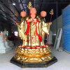 昌東地藏王菩薩廠家,玻璃鋼地藏王佛像雕塑工藝廠
