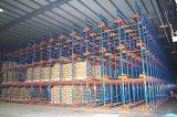 工厂定制仓库重型穿梭式货架半自动化模式库位货架