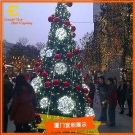 圣诞节圣诞树道具 展览展示  商场美陈