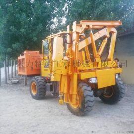 压桩机护栏打桩机装载立柱打拔钻一体机