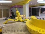 玻璃鋼香蕉皮休閒椅坐凳影響着城市整體空間的規劃品質