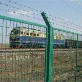 鐵路護欄網/浸塑框架護欄網/墨綠高鐵護欄網