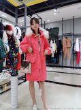 木丝语大气女装折扣品牌尾货 19冬装羽绒服大充绒量