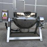 琥珀杏仁搅拌炒锅 电加热可控温夹层锅