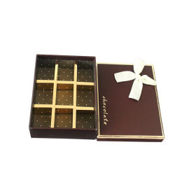9格巧克力礼盒 香皂花包装盒 创意礼品包装纸盒