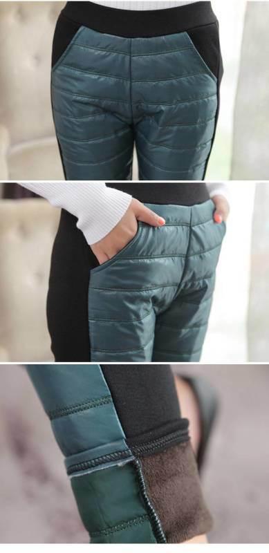 江湖地攤趕集產品冬季仿羽絨褲棉褲30元一條模式價格