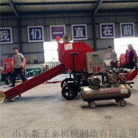 厂家直销大型畜牧机械 农业补贴全自动打捆包膜机