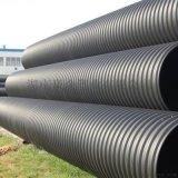 HDPE钢带管增强缠绕管聚乙烯dn300钢带管