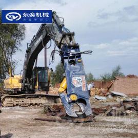 厂房钢结构拆除 拆车液压剪 挖机带鹰嘴剪
