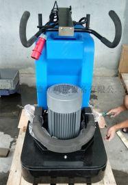 600双盘混凝土打磨机6头环氧地坪研磨机