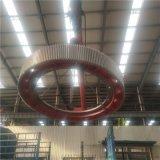 2.6米對開式耐磨合金鋼142齒球磨機大齒輪