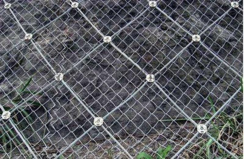 岩质边坡防护网主动防护网安装