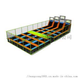 成人儿童室内淘气堡幼儿园商场大小型乐园大型蹦床