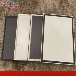 全铝家具铝合金衣柜门 橱柜门 浴室柜门定制