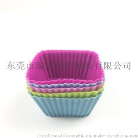 工厂定制 小号杯子蛋糕模具 硅胶杯子蛋糕烤盘