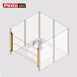 切割机安全光栅切割机安全光幕