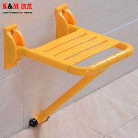 卫生间座椅 老人挂墙折叠座椅 折叠凳
