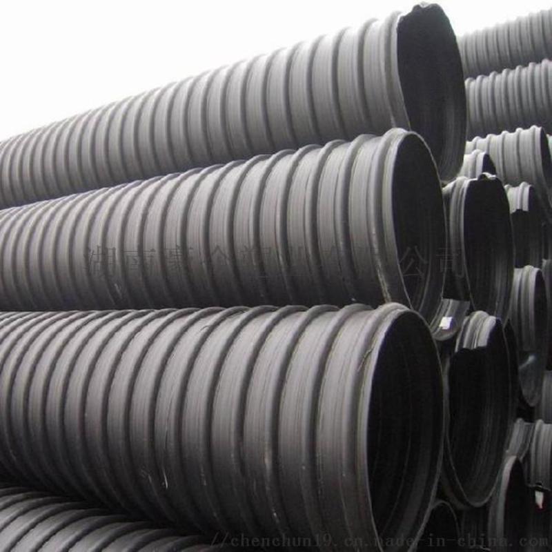 湖南HDPE钢带管增强螺旋管如何进行安装