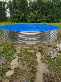 养殖鱼池防水帆布 加厚刀刮布 水池防水布
