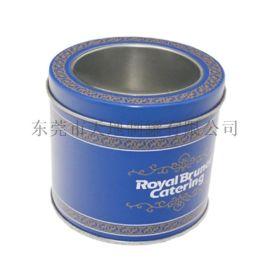圆形小铁罐定制 透明开窗盖子金属盒 **厂家