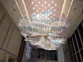 售楼部,酒店,会所非标工程吊灯,LED吊灯