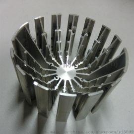 铝合金散热器设备散热片工业铝材
