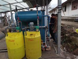 四川内江市竹源定制猪场污水处理设备 养殖气浮一体机