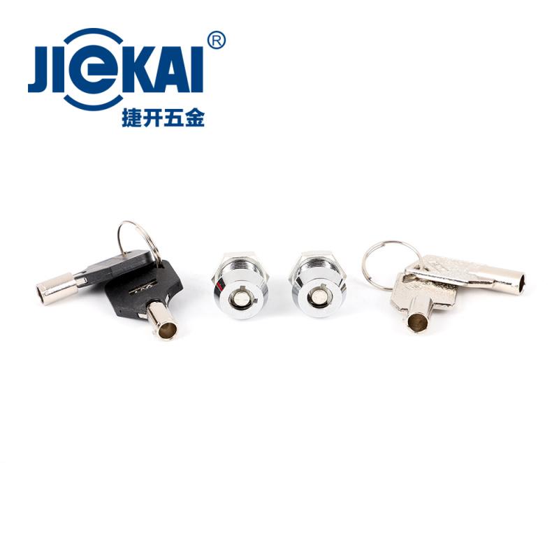 JK001电源锁 12mm电梯基站锁 安防锁具