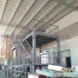 主体框架加固全自动水泥发泡保温板设备生产线 选用优