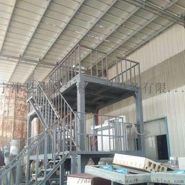 主體框架加固全自動水泥發泡保溫板設備生產線 選用優