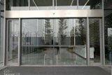 大型自动平移感应玻璃门