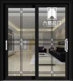 六扇名门门窗厂铝合金平开门门窗 厨房阳台重型推拉门