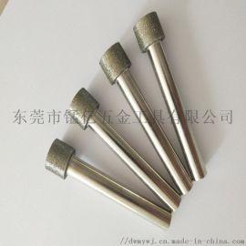 东莞锰亿供应氮化硼内孔研磨棒 非标定做内孔钻石磨棒