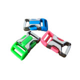 厂家批发五金插口,箱包安全扣,背包织带扣,彩色插扣