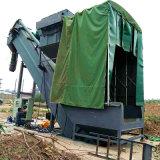 通畅熟料干灰卸车机 集装箱水泥中转设备 无尘拆箱机