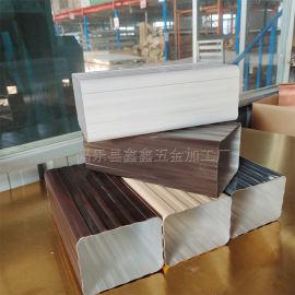 上海别墅用大口径方管 铝合金雨水管生产厂家