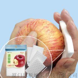 清洁果蜡 苹果蜡渍 梨子蜡 压缩纳米海绵