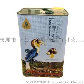工厂定制5L坚果油马口铁罐量大从优