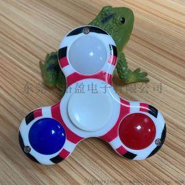 兒童玩具發光指尖陀螺