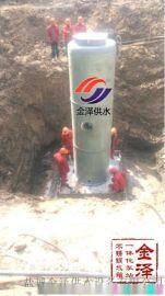 一体化污水泵站在雨水提升应用