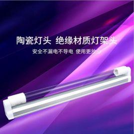石英紫外线杀菌灯T5一体管含镇流器30W 40W