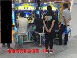 两人玩拳皇格斗款游戏机