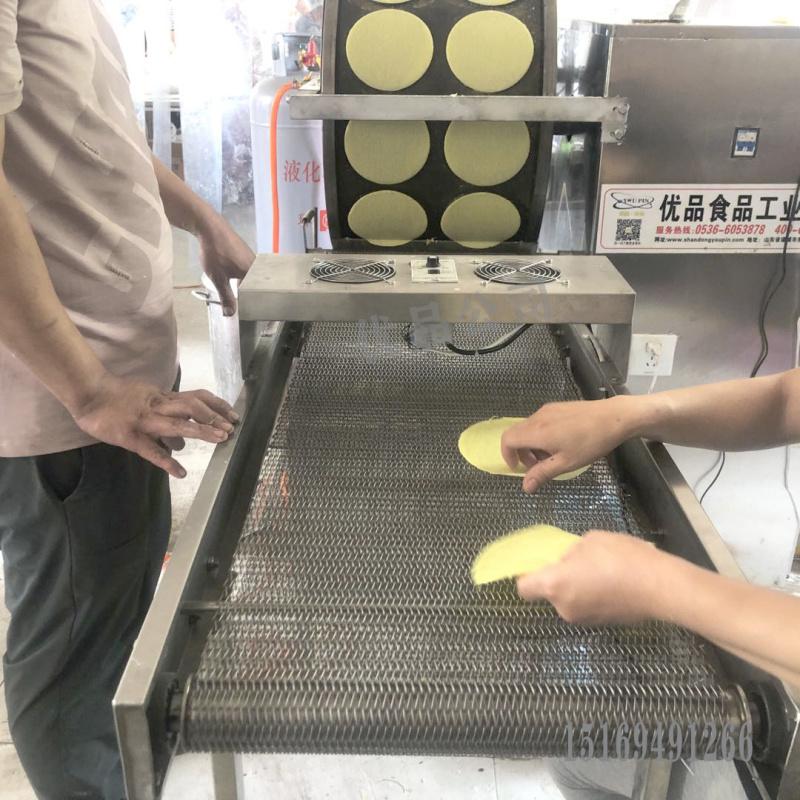 山东榴莲千层蛋皮机生产厂家,榴莲千层生产设备