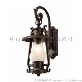 恒逸照明防古煤油壁灯户外照明于亮化