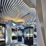 幕牆吊頂天花弧形鋁方通工藝造型鋁方通吊頂