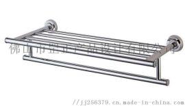 佛山罡正出品卫浴五金管件不锈钢毛巾架小管