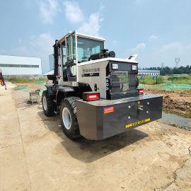 小型5吨越野叉车 T50型前后驱动多功能越野式叉车
